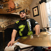 Gloucester: Gloucester drummer Steve Russo will be touring with The Toasters on their 30th anniversary tour. Photo by Kate Glass/Gloucester Daily Times