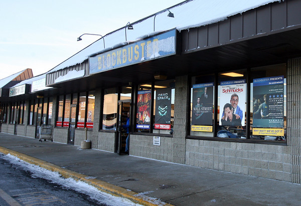 Gloucester: The Blockbuster in Gloucester appears to be staying open although the chain recently announced that locations in Beverly and Swampscott will be closed. Photo by Kate Glass/Gloucester Daily Times