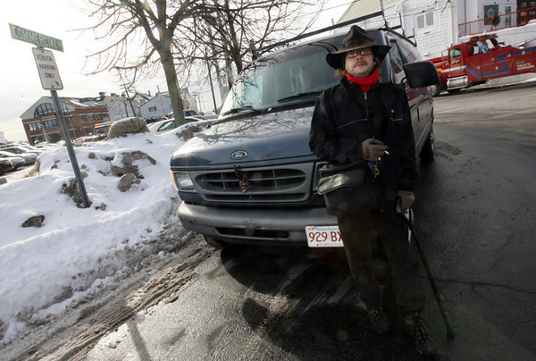 Gloucester: Howard Rafiel Johnson who runs Raf's Bait Wagon at the intersection of Commercial and Washington Street recently found out that the city has removed his vendor location. Photo by Kate Glass/Gloucester Daily Times