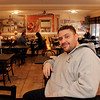 ALLEGRA BOVERMAN/Staff photo. Gloucester Daily Times. Gloucester: Peter Zappa, owner of Causeway Restaurant, in the newly renovated dining room.