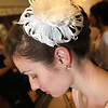 ALLEGRA BOVERMAN/Staff photo. Gloucester Daily Times. Gloucester: Over 1000 people attended the fourth annual Cruiseport Gloucester Bridal Show and Wedding Expo on Thursday evening. Abby Rosmarin of Nashua, N.H. was to be a model in the Bella Sera Bridal fashion show. Her hair and makeup was done by EnVogue Salon stylists.