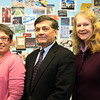 ALLEGRA BOVERMAN/Staff photo. Gloucester Daily Times. Gloucester: Three top administrators in Gloucester Public Schools will be retiring at the end of this school year. From left are: JoAnne S. Reiss, Director of Special Education, Brian C. Tarr, Assistant Superintendent, and Shayme J. Trubisz, Assistant Superintendent for Teaching and Learning.
