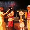 """ALLEGRA BOVERMAN/Staff photo. Gloucester Daily Times. Rockport: Rockport Middle School's production of """"Beauty and the Beast"""" will take place Thurs. Jan. 26, Fri. Jan. 27  and Sat. Jan. 28 at 7 p.m. and <br /> Sun. Jan. 29 – """"Beauty and the Beast"""" 2 p.m. matinee. Tickets, $10 general admission, $7 students and seniors.<br /> From left are: Kiva Trombour as Belle, Miles Bryan as Beast, Ben Adams as Cogsworth and Jack Reilly as Lumiere."""