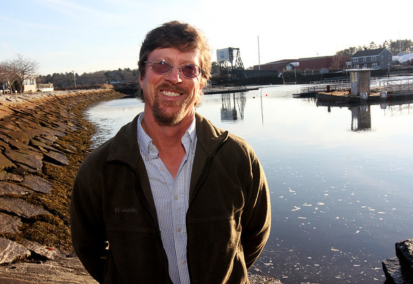ALLEGRA BOVERMAN/Staff photo. Gloucester Daily Times. Manchester: Bion Pike is the new Manchester Harbormaster.