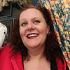 Allegra Boverman/Gloucester Daily Times. Jodi Swenson of Gloucester, a state and federally permitted wildlife rehabilitator, with her umbrella cockatoo, Yaya.