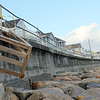 Allegra Boverman/Gloucester Daily Times. Rockport is looking to restore the  seawall at Long Beach. No extensive work has been done to restore it since the 1950s and there is current storm damage there as well.