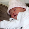 Allegra Boverman/Gloucester Daily Times. Kaia Camilla, of Gloucester, was the first baby of the new year born at the North Shore Birth Center at Beverly Hospital.