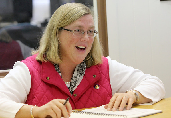 Allegra Boverman/Gloucester Daily Times. Carolyn Kirk, mayor of Gloucester, will run for a fourth term.