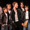 "Jim Vaiknoras/Gloucester Daily Time: John Altman as Danny sings ""Summer Lovin"" in the Rockport Middle School Production of Grease. Performances are Thursday, Friday, and Saturdat at 7pm and Sunday at 2pm at the John E. Lane Performing Art Center at Rockport High."