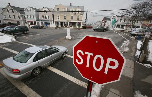 Stop Sign Causes Stir