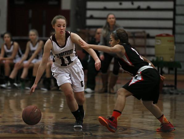 Gloucester vs. Salem Girls Basketball