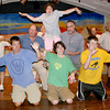 "Gloucester: Annisquam Village players rehearsaling for August 4th ""Joseph and the Amazing Technicolor Dreamcoat"" at the Annisquam Village Hall.<br /> Silvie Lockerova/Gloucester Daily Times"