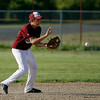 Gloucester: Gloucester's Santo Parisi fields a ground ball during their Junior League All-Star game against Swampscott at Nate Ross Field last night. Photo by Kate Glass/Gloucester Daily Times Monday, July 13, 2009