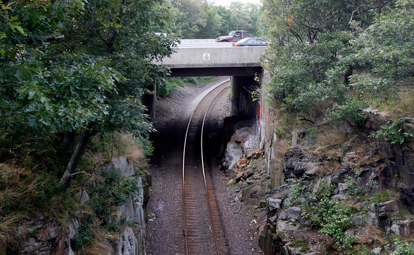 Gloucester: Jeffrey Tupper, 47, of Gloucester died from injuries sustained when he was struck by a Boston-bound MBTA train near the Route 128 extension bridge Sunday night. Photo by Kate Glass/Gloucester Daily Times Monday, July 20, 2009