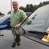 "Gloucester: Don Sudbay Jr. says the ""Cash for Clunkers"" promotion has been bringing a lot of business to his car dealerships. The government is offering $4,500 for older cars that get poor gas mileage if people trade them in for new cars that get better mileage. Photo by Kate Glass/Gloucester Daily Times Wednesday, July 29, 2009"
