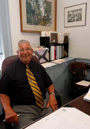 Rockport: Edgar Gadbois recently started his new position as Rockport's Interim Town Administrator. Photo by Kate Glass/Gloucester Daily Times Wednesday, July 15, 2009