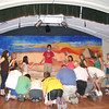 "Gloucester: Annisquam Village players rehealsaling their play ""Joseph and the Amazing Technicolor Dreamcoat"" for August 4th in Annisquam Village Hall.<br /> Silvie Lockerova/Gloucester Daily Times"
