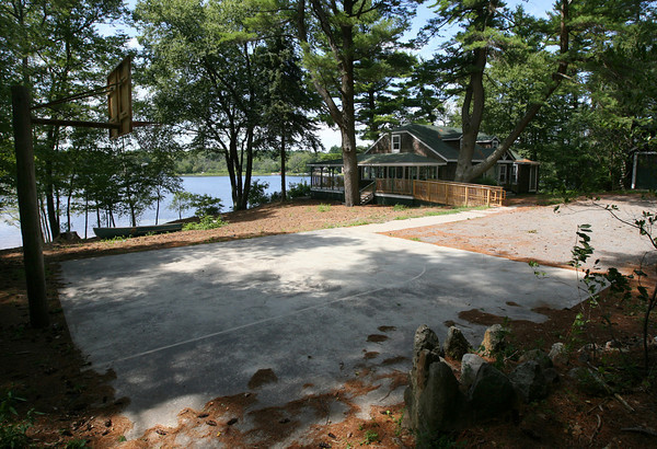"Essex: The town of Essex is not allowing the Essex Youth Commission summer camp to use the cottage at Centennial Grove since it was renovated to be filmed in the movie ""Grown Ups"" last summer. Photo by Kate Glass/Gloucester Daily Times"