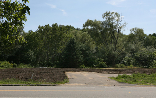 Manchester: All three of the homes on Pine Street that were on contaminated soil have been removed. Photo by Kate Glass/Gloucester Daily Times
