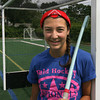 Allie Sardo of Gloucester, who will be a sophomore at Pingree in the fall, has been selected to compete in the AAU Junior Olympics for field hockey in August. Photo by Kate Glass/Gloucester Daily Times