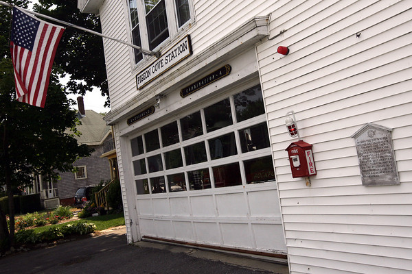 Rockport: The Rockport Fire Department will need to request a custom size fire truck for the Pigeon Cove Station to fit in the doors. Photo by Kate Glass/Gloucester Daily Times
