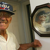Gloucester: Anthony Rao of Gloucester will receive the French Legion of Honor Medal at the World War II memorial at Kent's Circle today. Rao was stationed in France following the Normandy invasion. Photo by Kate Glass/Gloucester Daily Times