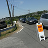 Gloucester: The parking lot at Good Harbor Beach was closed to the general public for most of the holiday weekend, causing major traffic and parking problems in the area. Photo by Kate Glass/Gloucester Daily Times