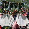 Manchester: The Manchester Essex Major Little League 2010 Champions cheer as they ride in the Manchester 4th of July Parade yesterday afternoon. Photo by Kate Glass/Gloucester Daily Times