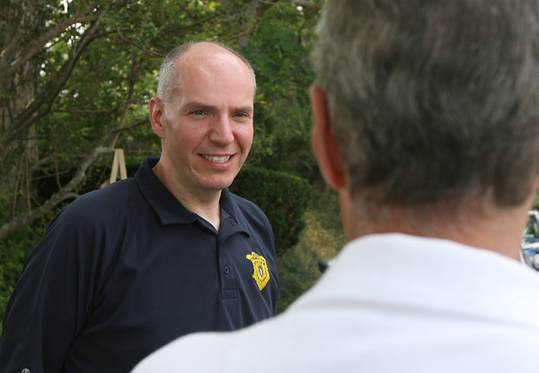 Probation Officer Alex Moulton, who has worked on Cape Ann for five years, visits people both at work and at their homes in addition to having people check in with him at the Gloucester District Court. Photo by Kate Glass/Gloucester Daily Times
