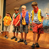 "Gloucester: The Lollipop League John Ertel, Aidan Flaherty, James Osmond and Chris von Lossenitzer in the  Annisquam Village Players production of ""THe Wizard of Oz. Jim Vaiknoras/staff photo"