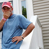 ALLEGRA BOVERMAN/Staff photo. Gloucester Daily Times. Gloucester: Anthony Harrison spoke of the daily pain of his daughter Caleigh Harrison's disappearance during press conference at his family's home in Gloucester on Monday afternoon.