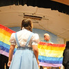 "Gloucester: The Rainbow is put up in the  Annisquam Village Players production of ""THe Wizard of Oz. Jim Vaiknoras/staff photo"