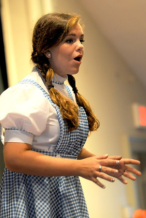 "Gloucester: Teaghan Hagood as Dorothy  in the  Annisquam Village Players production of ""THe Wizard of Oz. Jim Vaiknoras/staff photo"