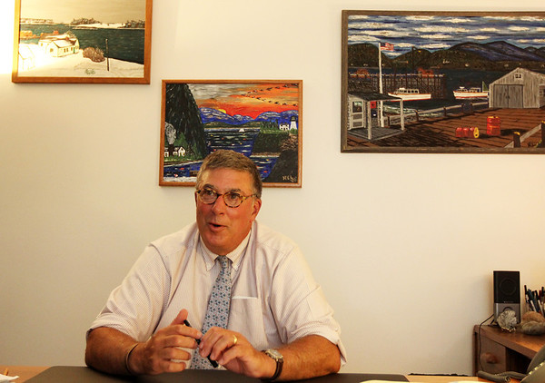 ALLEGRA BOVERMAN/Staff photo. Gloucester Daily Times. Rockport: Rob Liebow. the new Rockport schools superintendent.