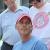 ALLEGRA BOVERMAN/Staff photo. Gloucester Daily Times. Gloucester: Anthony Harrison, front, spoke of the daily pain of his daughter Caleigh Harrison's disappearance during press conference at his family's home in Gloucester on Monday afternoon. His parents, David and Antonette Harrison, stand behind him.