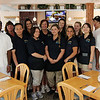 ALLEGRA BOVERMAN/Staff photo. Gloucester Daily Times. Essex: Riverside Bistro is now open in Essex. The staff is pictured.