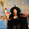 "Gloucester: Gina Milne as the Wicked Witch of the West  in the  Annisquam Village Players production of ""THe Wizard of Oz. Jim Vaiknoras/staff photo"