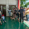 DESI SMITH/Staff photo.  Magnolia residents and others, chech out the fire station at the reopening and reception for the Magnolia fire station, Saturday morning.<br />   July 5,2014