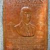 Courtesy photo<br /> One of Gloucester Daniel Altshuler's latest commission's was a bas relief plaque for the the Codman Memorial, which dedicate earlier this month.