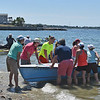 Racers in boats of all sizes begin removing their boats from the water at the conclusion of the 2016 Blackburn Challenge. <br /> <br /> Photo by JoeBrownPhotos.com