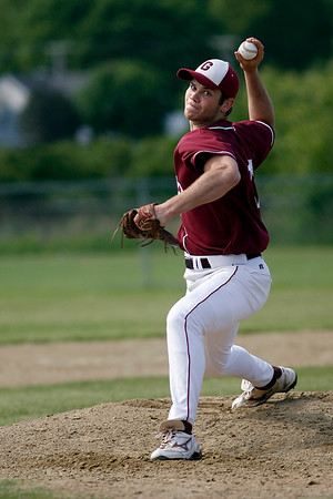 Gloucester: Gloucester's Dylan Maki pitched 10 innings and struck out 15 batters during the Fishermen's 3-2 win over Lawrence in the second round of the North Division I tournament yesterday. Photo by Kate Glass/Gloucester Daily Times Monday, June 1, 2009