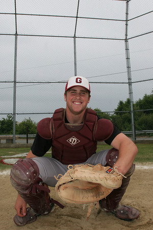 Gloucester: Gloucester junior catcher Brett Cahill has been a stabablizing force behind the plate and has been calling all the pitches for the Fisherman's pitching staff. Mary Muckenhoupt/Gloucester Daily Times