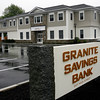 Rockport: Granite Savings Bank's new building will be opening on Monday. Photo by Kate Glass/Gloucester Daily Times Monday, June 22, 2009