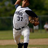 Gloucester: Lawrence's Yunior Vasquez pitched 9 innings during the Lancers' 3-2 loss to Gloucester in the second round of the North Division I tournament yesterday. Photo by Kate Glass/Gloucester Daily Times Monday, June 1, 2009