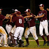 Lowell: Members of the Gloucester baseball team celebrate their 2-1 victory over Lincoln Sudbury in the Division I North Semi Finals at Lowell Alumni Field last night. The Fishermen will face St. John's Prep in the finals at LeLacheur Park in Lowell on Saturday at 6 p.m. Photo by Kate Glass/Gloucester Daily Times Thursday, June 4, 2009