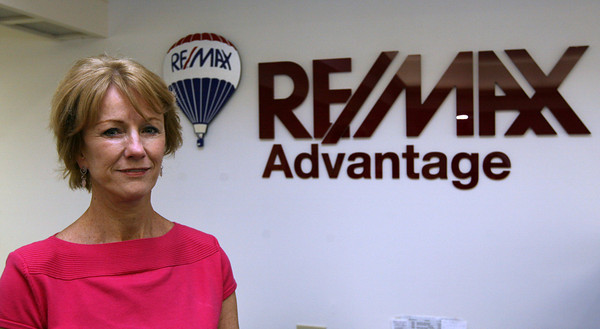 Gloucester: Ruth Pino of Re/Max Advantage is one of four people who was recently awarded the Chamber of Commerce's Small Business of the Year Award. Photo by Kate Glass/Gloucester Daily Times