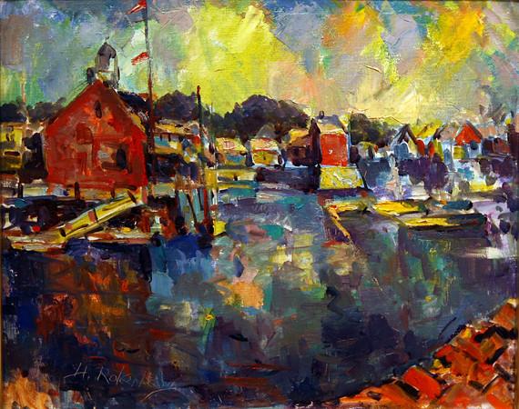 Harold Rotenberg painting
