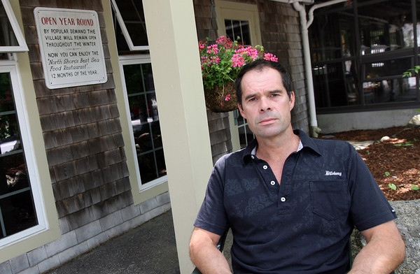 Essex: Mark Ricci of The Village Restaurant is one of four people who was recently awarded the Chamber of Commerce's Small Business of the Year Award. Photo by Kate Glass/Gloucester Daily Times