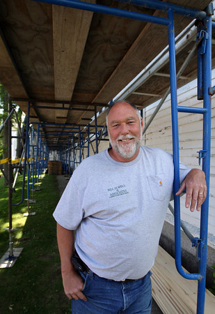 Rockport: Bill Elwell of Bill Elwell Associates is one of four people who was recently awarded the Chamber of Commerce's Small Business of the Year Award. Photo by Kate Glass/Gloucester Daily Times