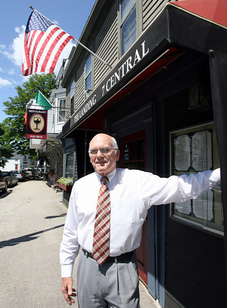 Manchester: Chris Shea, owner of The Landing, is one of four people who recently awarded the Chamber of Commerce's Small Business of the Year Award. Photo by Kate Glass/Gloucester Daily Times